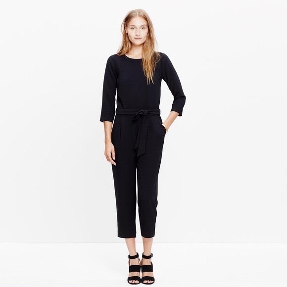 809c1f183853 Madewell Pants - Madewell 0 Sloan black jumpsuit romper